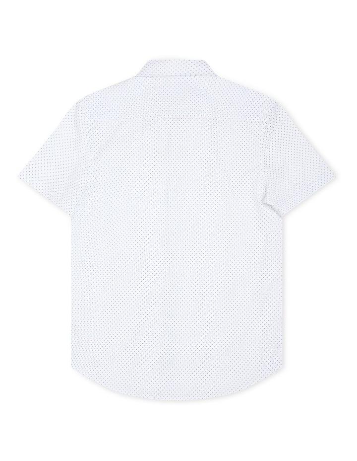 The Woodgate Short Sleeve Shirt White image 2