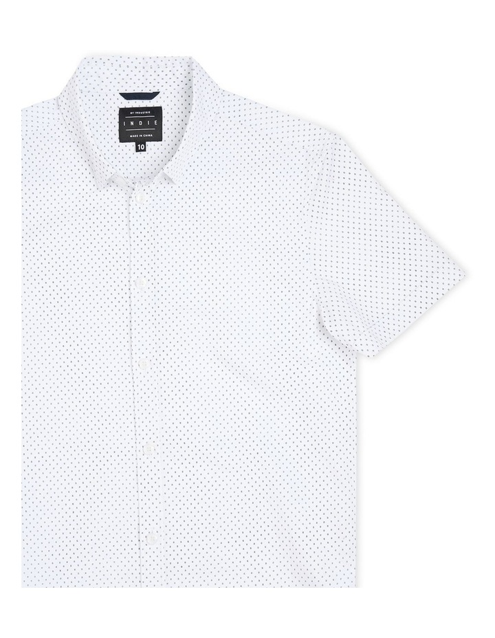 The Woodgate Short Sleeve Shirt White image 3