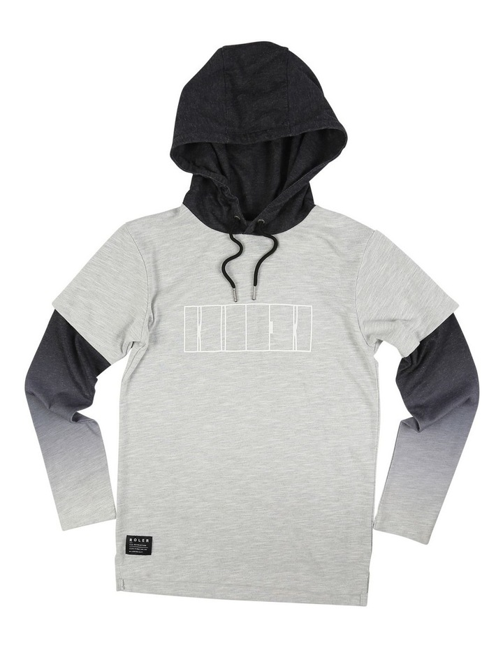Roler Cut Chest Hoodie image 1