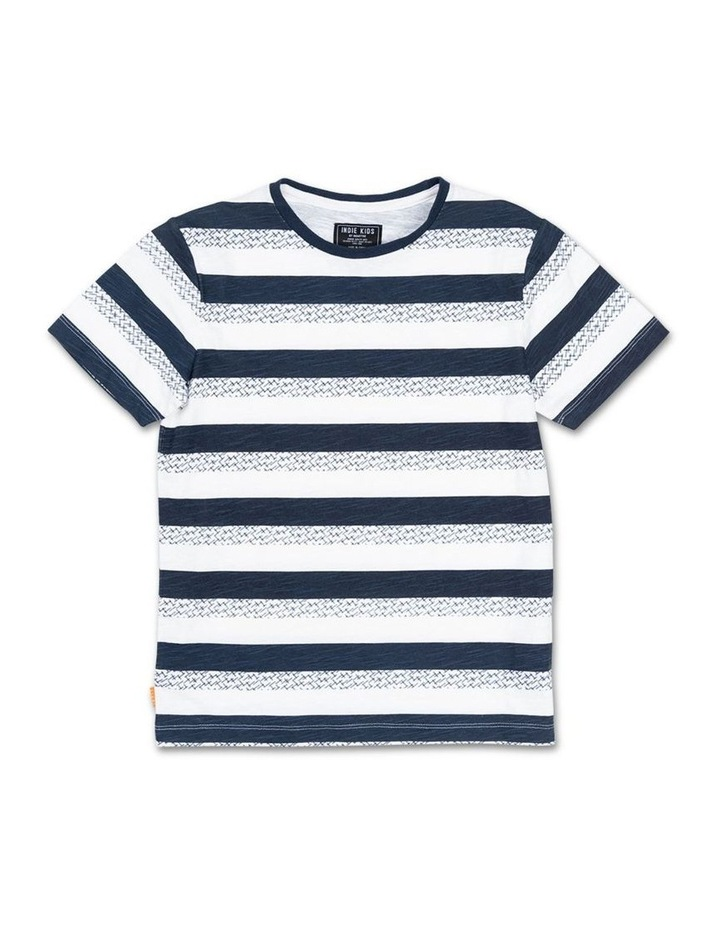 Fall Stripe Tee image 1