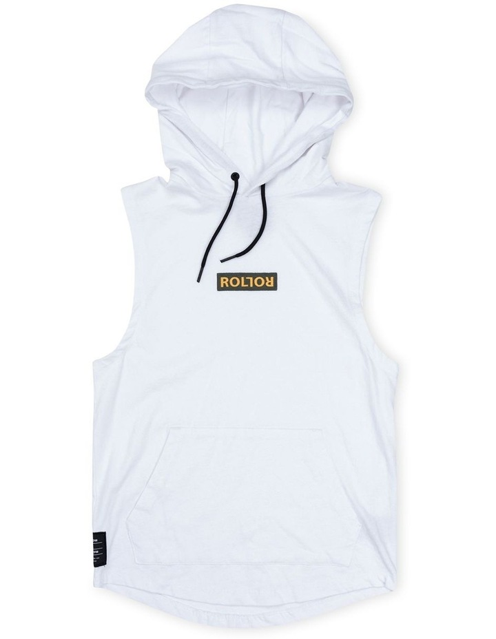 Roler White Hood Muscle image 1