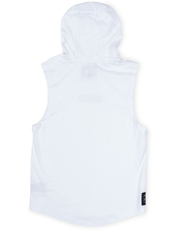Roler White Hood Muscle image 2