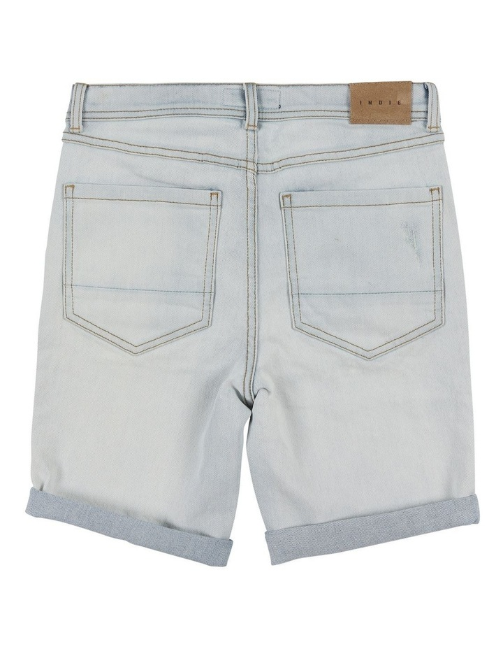 Denim Sawn Short image 2