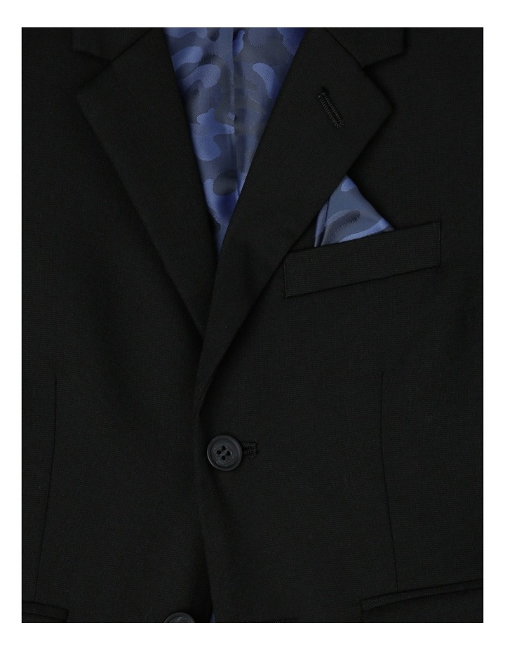 Lachlan Slim Jacket Black 3-7 image 2
