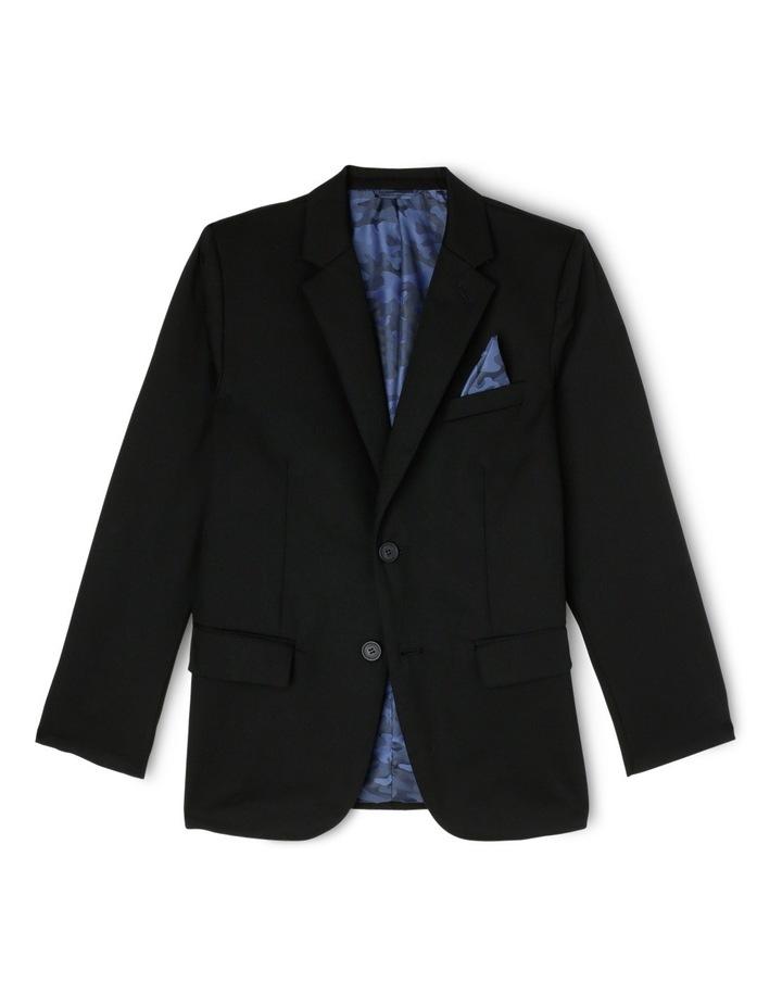 Lachlan Slim Jacket Black 8-16 image 1