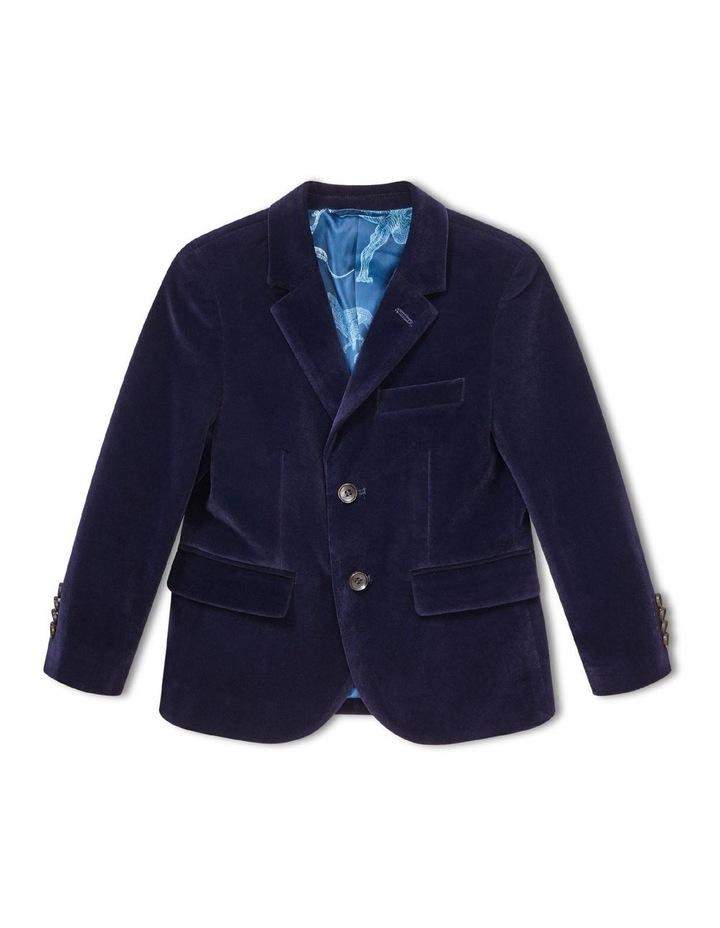 Youth Jacket Navy Velvet Look image 1
