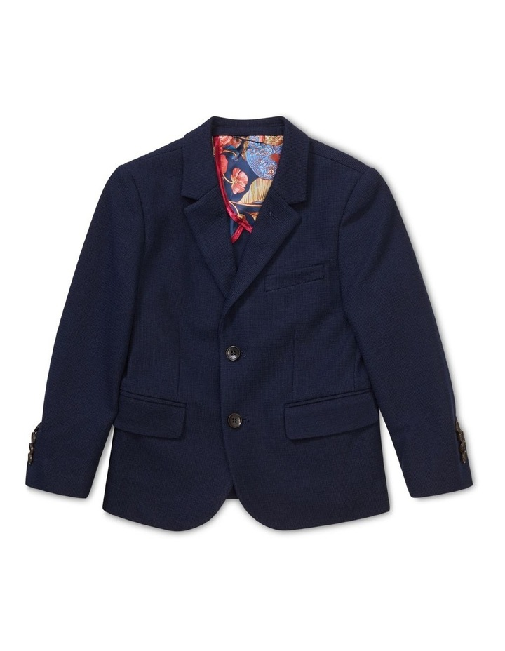 Youth Suit Jacket Knit Navy image 1