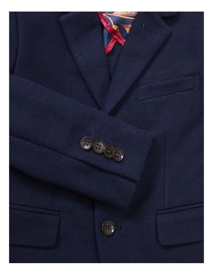 Youth Suit Jacket Knit Navy image 2