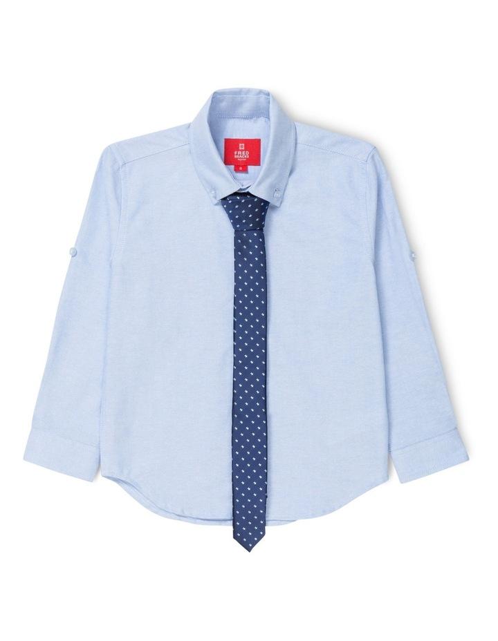 Oxford And Star Print Shirt 3-7 image 1