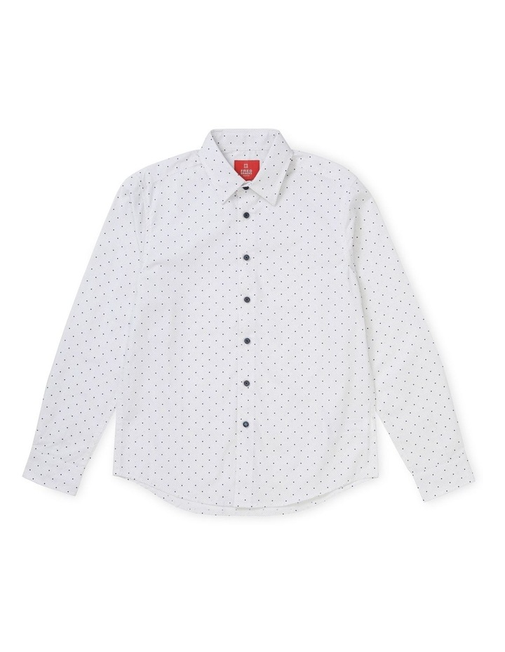 Youth Polka Dot Print Shirt image 1