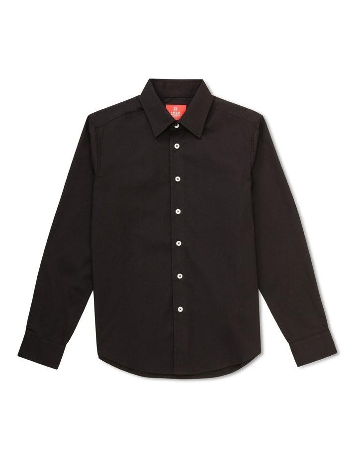 Youth Shirt Plain Black image 1