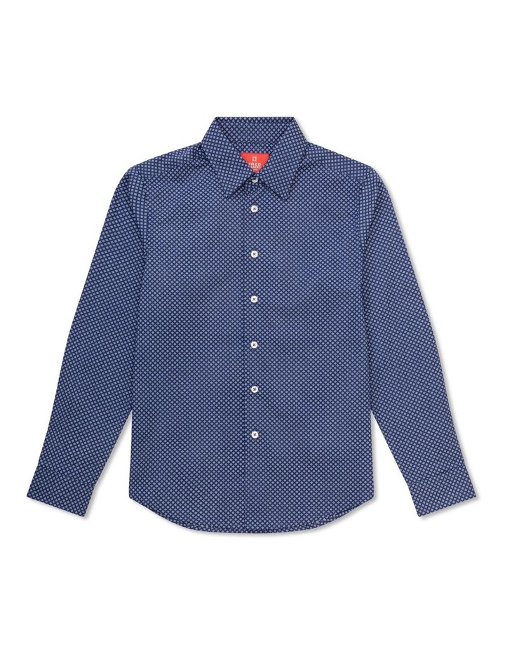 Youth Shirt Navy All Over Print image 1