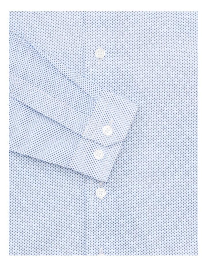 Junior Shirt White All Over Navy Print image 2
