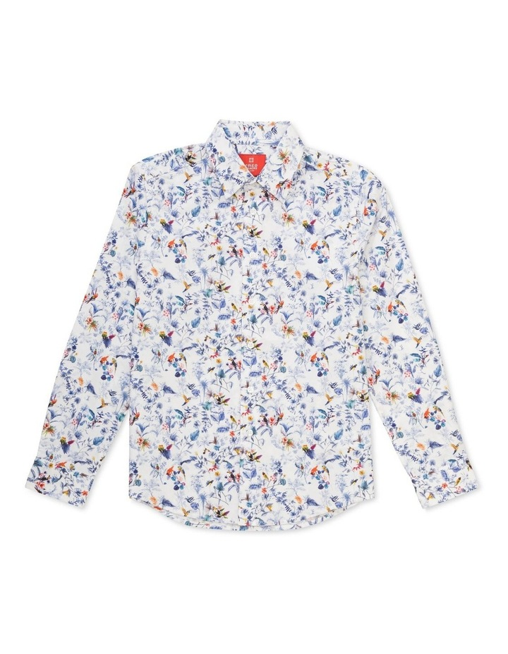 Youth Fit Shirt White Ground Flora   Fauna image 1