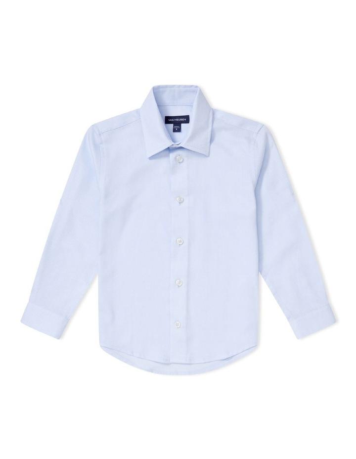 Junior Shirt Dobby Blue image 1