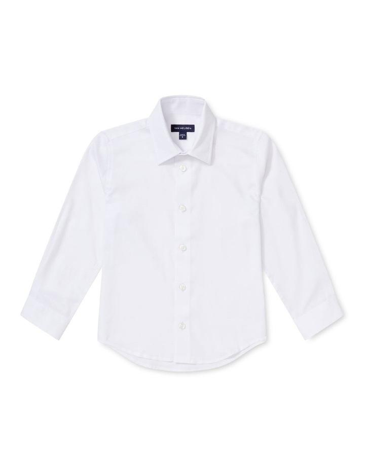 Junior Shirt Dobby White image 1