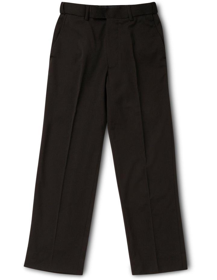 Black Tonal Stripe Pant image 1