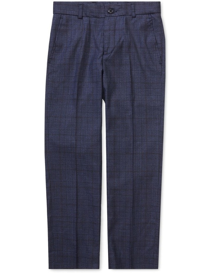 Youth Suit Pant Ink Check image 1