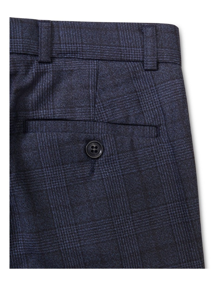 Youth Suit Pant Ink Check image 2