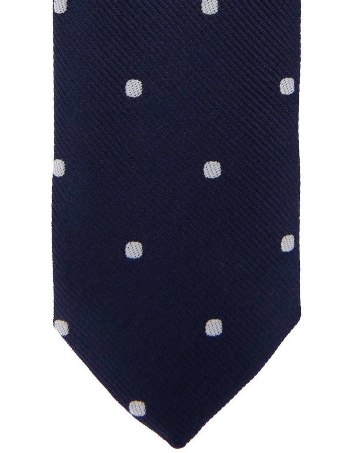 Youth Tie Navy Spot image 2