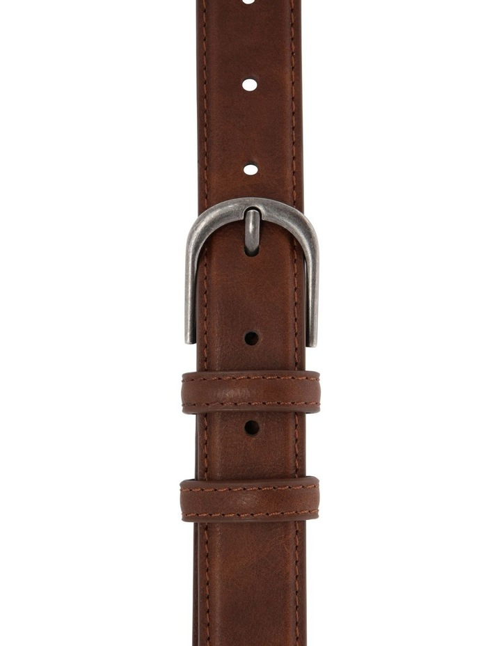 Youth Belt Leather Brown image 1
