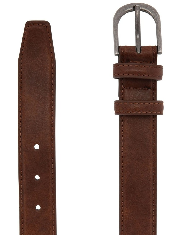 Youth Belt Leather Brown image 2