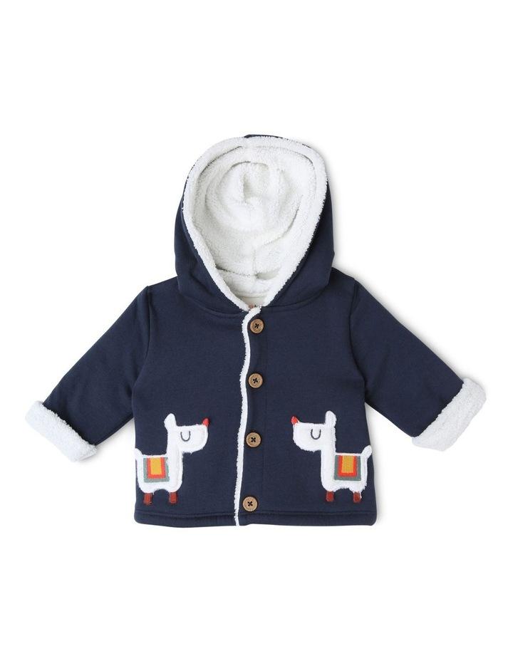 Rufus Teddy Fleece Lined Jacket with Llama Pockets image 1