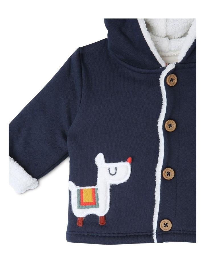 Rufus Teddy Fleece Lined Jacket with Llama Pockets image 2