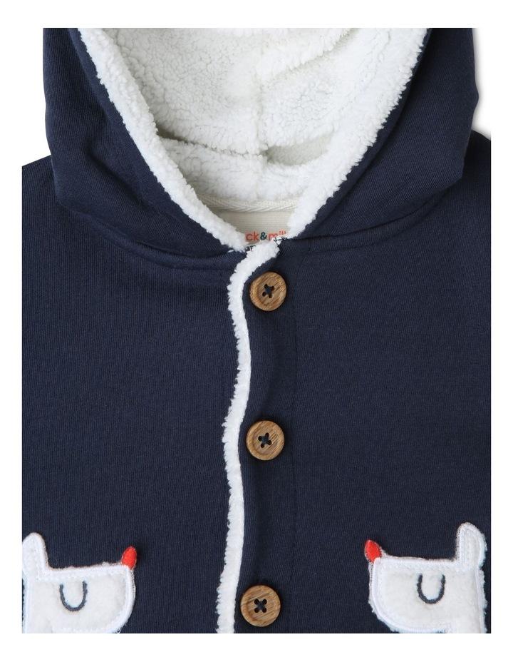 Rufus Teddy Fleece Lined Jacket with Llama Pockets image 3