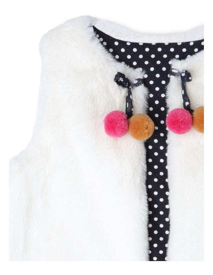 Elki Reversible Faux Fur Vest image 3