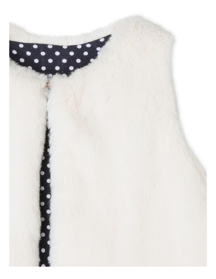 Ivy Faux Fur Vest image 3