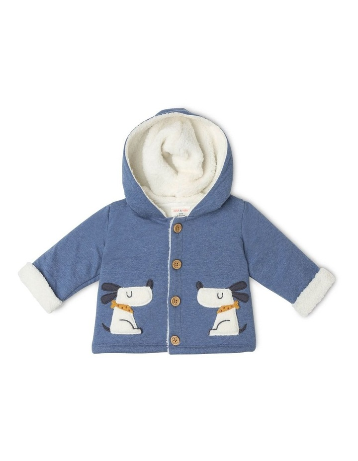 Benny Teddy Fleece-Lined Jacket with Dog Pockets image 1