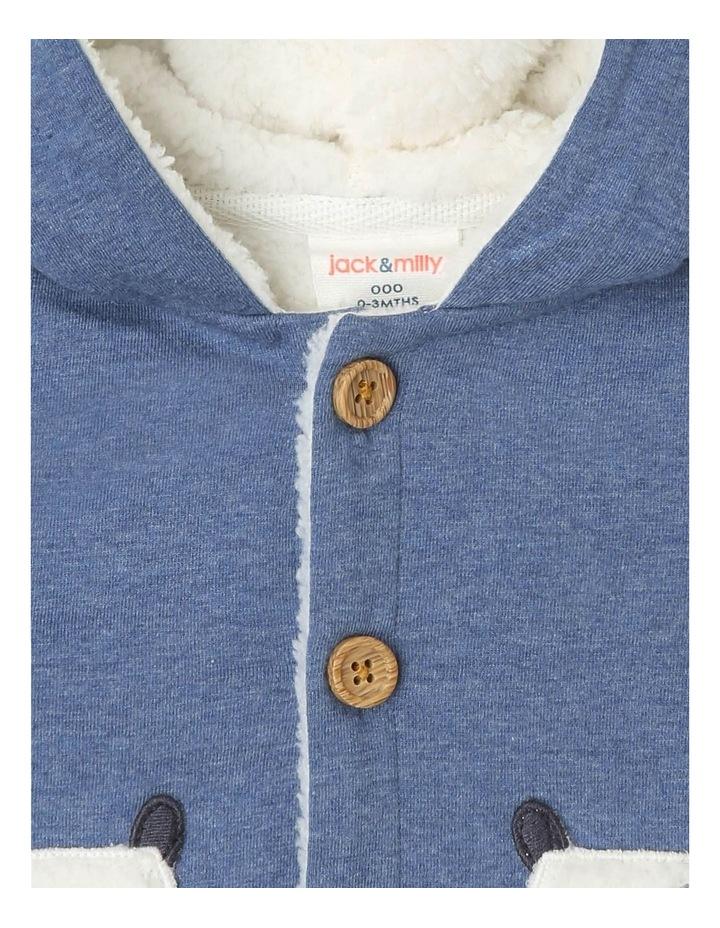 Benny Teddy Fleece-Lined Jacket with Dog Pockets image 3