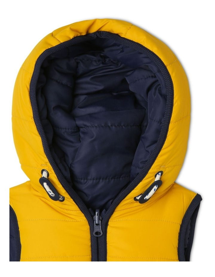 Cass Reversible Puffer Vest With Rib Bands image 3