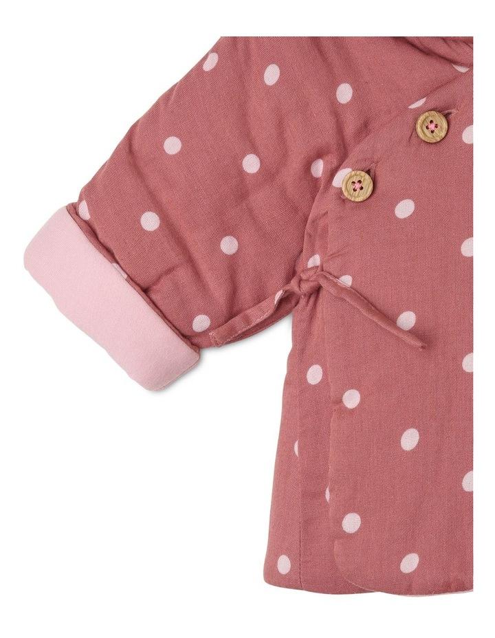 Asymmetrical Hooded Jacket with Spot Yardage image 2