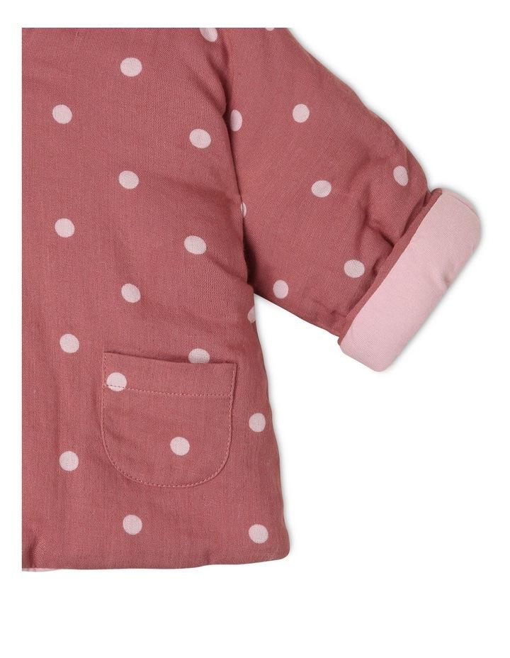 Asymmetrical Hooded Jacket with Spot Yardage image 3