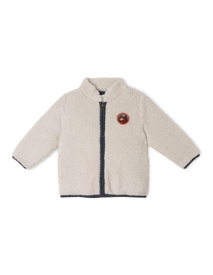 Jasper Teddy Fleece Zip Jacket image 1