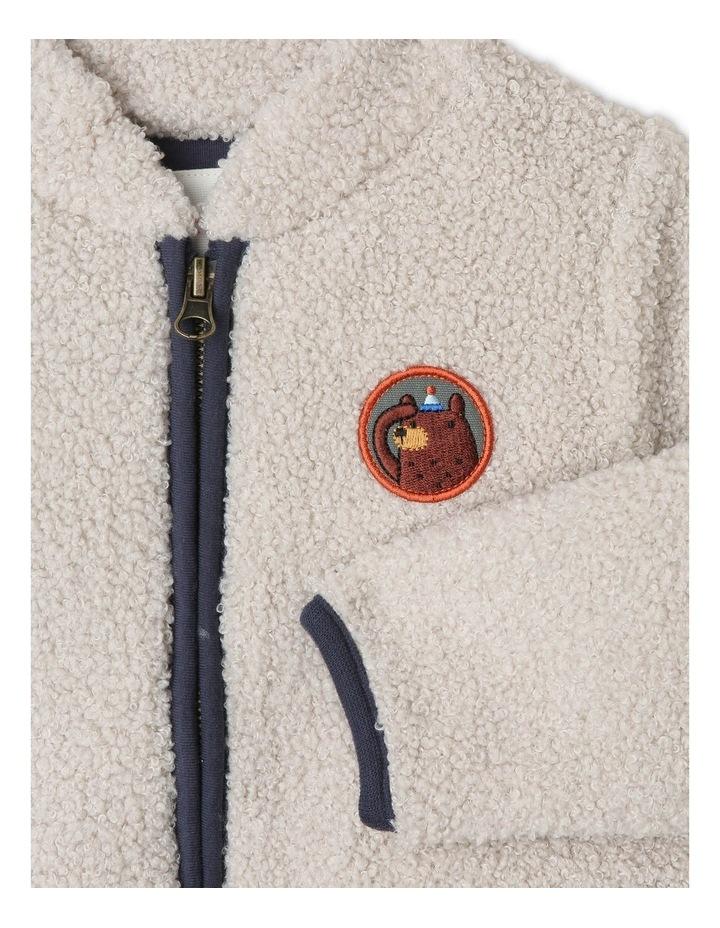 Jasper Teddy Fleece Zip Jacket image 2
