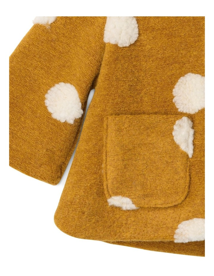 Izzie Fluffy Spot Jacket with Hood image 3
