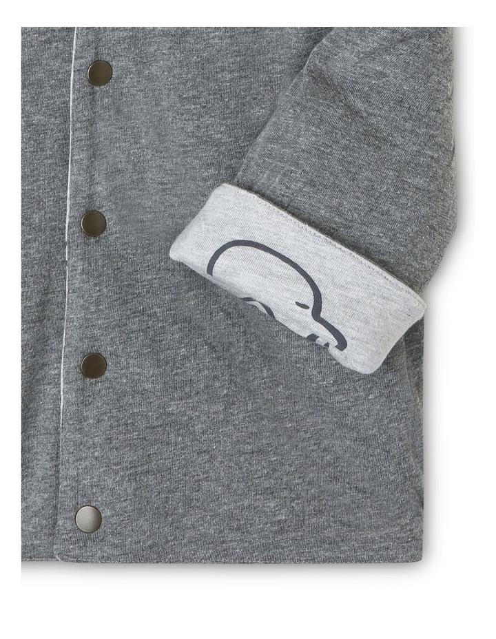 Leo Jersey-Lined Reversible Jacket image 6