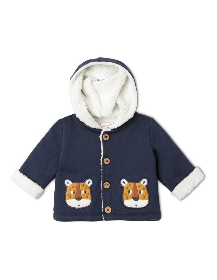 Benny Teddy Fleece Knit Jacket image 1