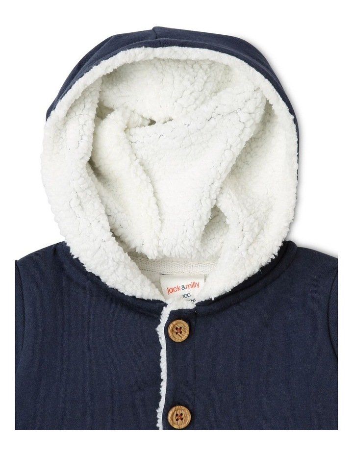 Benny Teddy Fleece Knit Jacket image 2