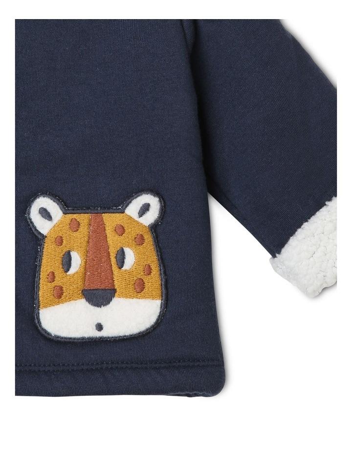 Benny Teddy Fleece Knit Jacket image 3