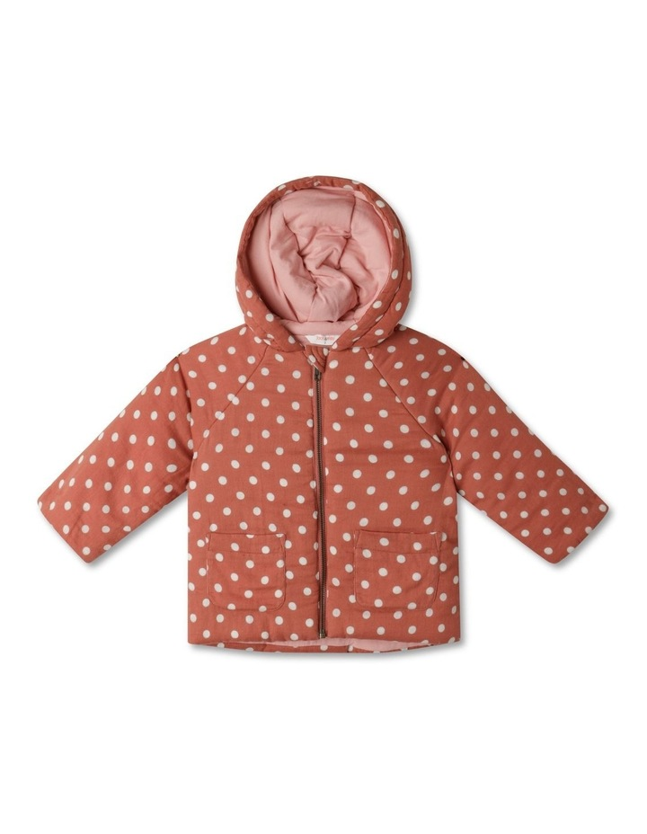 Dotty Hooded Spot Jacket image 1