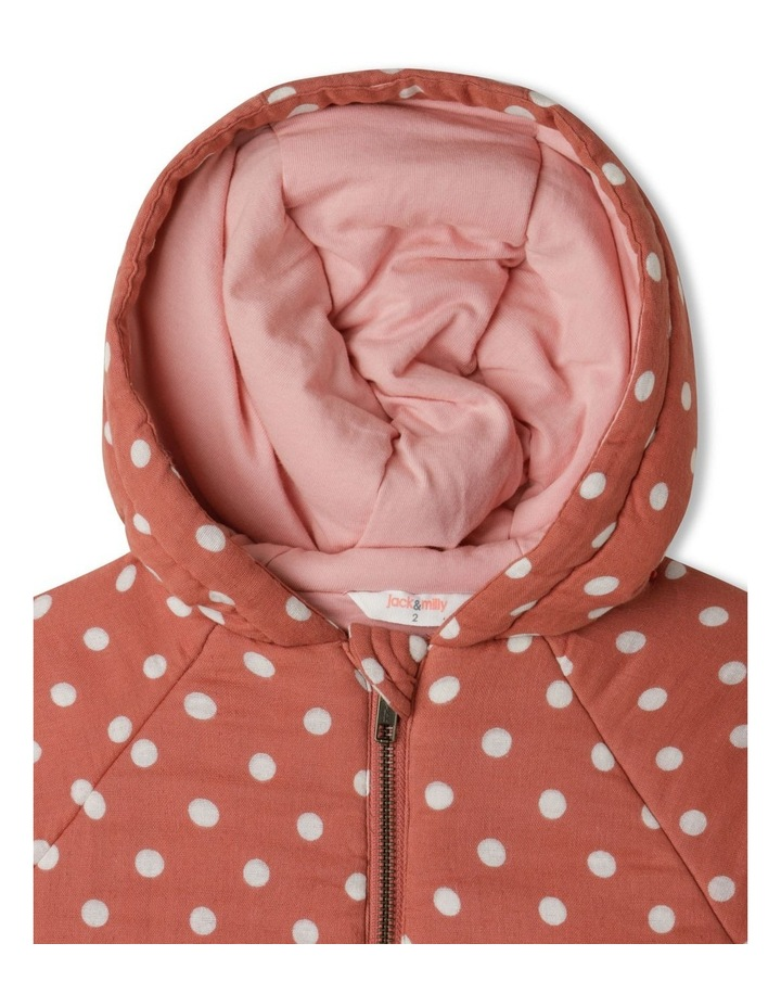 Dotty Hooded Spot Jacket image 2