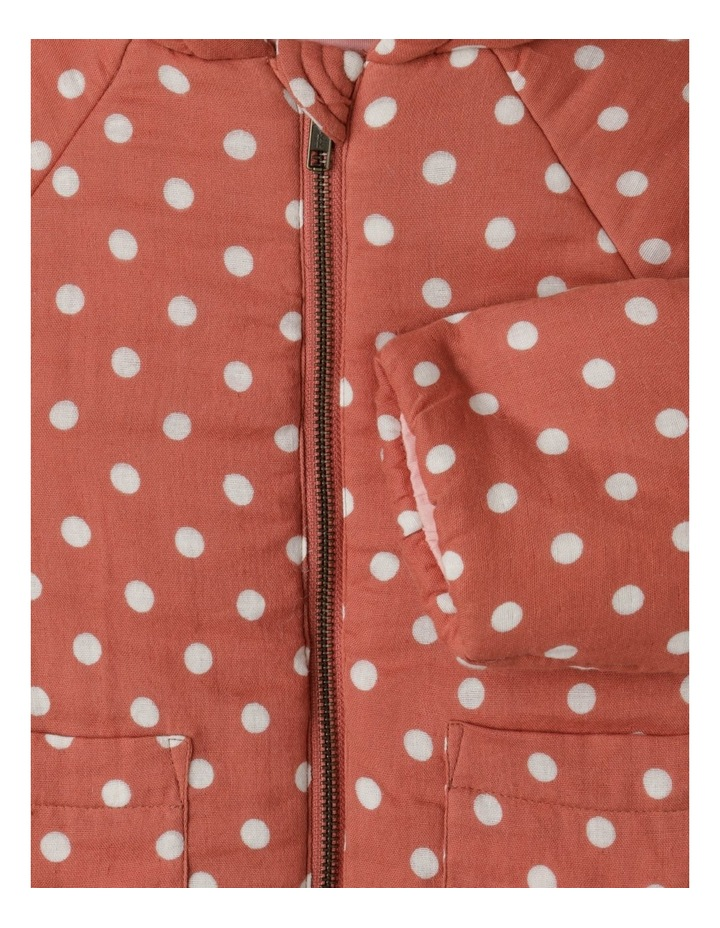Dotty Hooded Spot Jacket image 3
