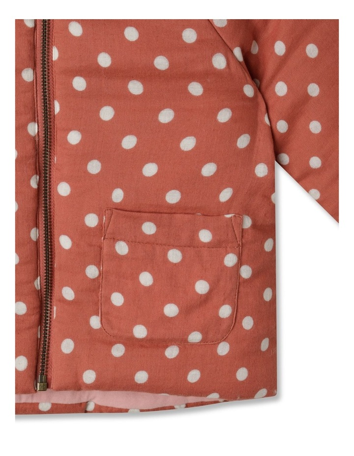 Dotty Hooded Spot Jacket image 4