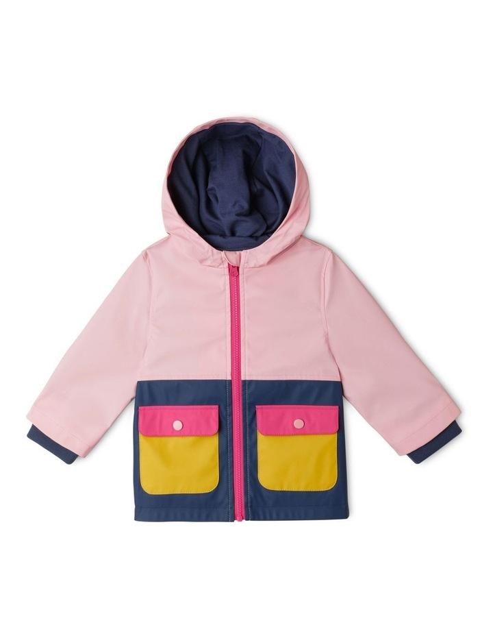 Poppy Spliced Hooded Jacket image 1