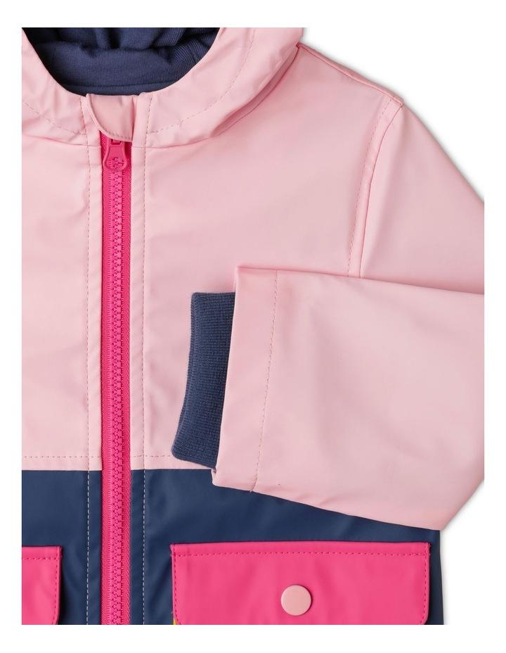 Poppy Spliced Hooded Jacket image 2