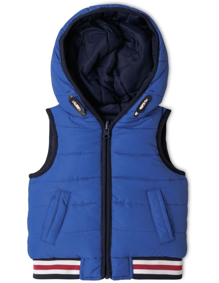 Monty Reversible Puffer Vest image 1
